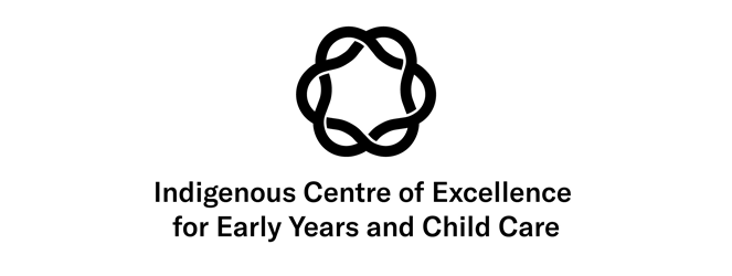Indigenous Centre of Excellence for Early Years and Child Care Logo